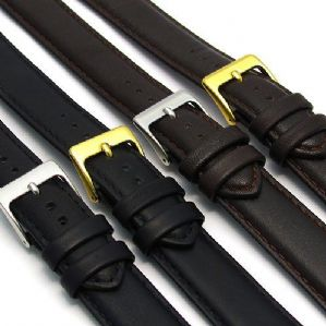 Soft Genuine Leather Extra Long XL watch Strap  D002